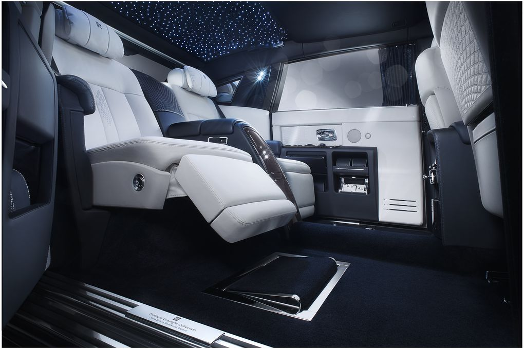 Rolls Royce Phantom Back Interior