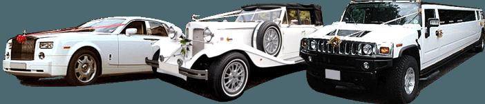 Svatební auto - Půjčovna aut na svatbu - Svatební vozy