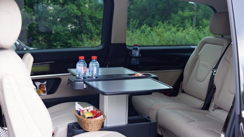Mercedes Vclass interior 2
